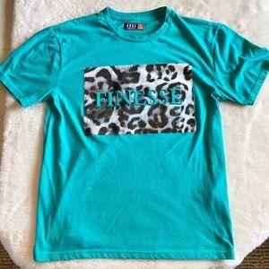 teal summer Finness Shirt (M*